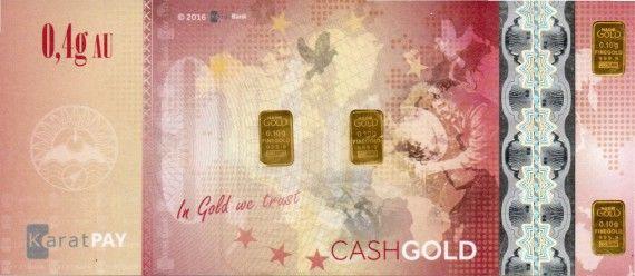 CashGold 0,4g Lic